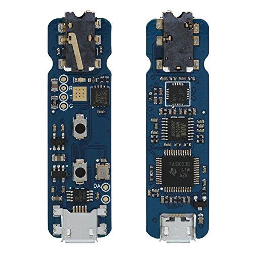 SMSL X4 USBポータブルヘッドホンアンプ OTGボリュームコントロール (ブラック)