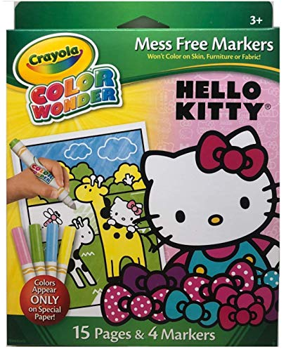 Princess Toy and Color Wonder Mini Markers 10 Count Pastel Crayola Color Wonder Glitter Pad /& Markers