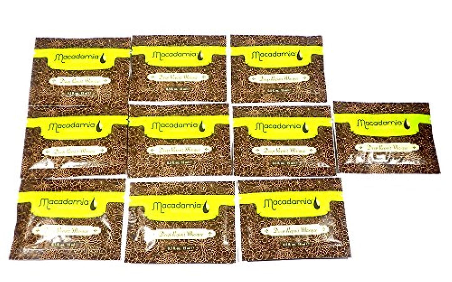 列挙するランク受け入れたマカダミアナチュラルオイル MNOマスク 10袋セット(150mL分)