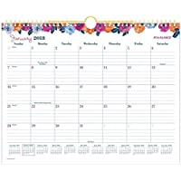 AT-A-GLANCE Monthly Wall Calendar January 2018 - December 2018 14-7/8 x 11-7/8 Wirebound Eva (W1044-707) [並行輸入品]