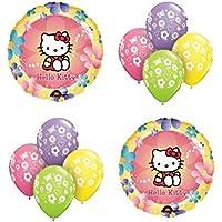 Hello Kitty Mylar Balloon Bouquet 10pc
