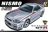 青島文化教材社 1/24 SパッケージVer.R No.81 NISMO ニッサン R34 スカイライン GT-R Z-TUNE プラモデル