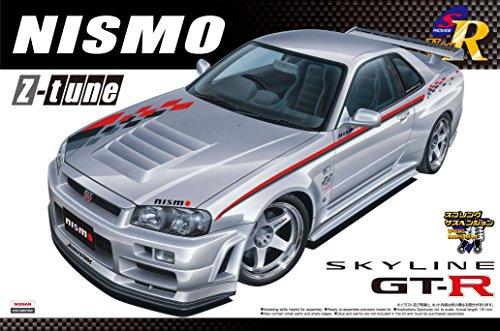 1/24 Sパッケージ バージョンR No.81 NISMO R34スカイライン GT-R Z-TUNE