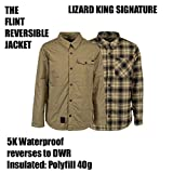 【L1 OUTER WEAR】 エルワン 【FLINT REVERSIBLE JACKET】 BRUSH WITH BLACK/MILITARY PLAID Msize 【LIZARD KING SIGNATURE】 KR3W SNOWBOARD スノーボード WEAR ウエアー ジャケット リバーシブル 正規品