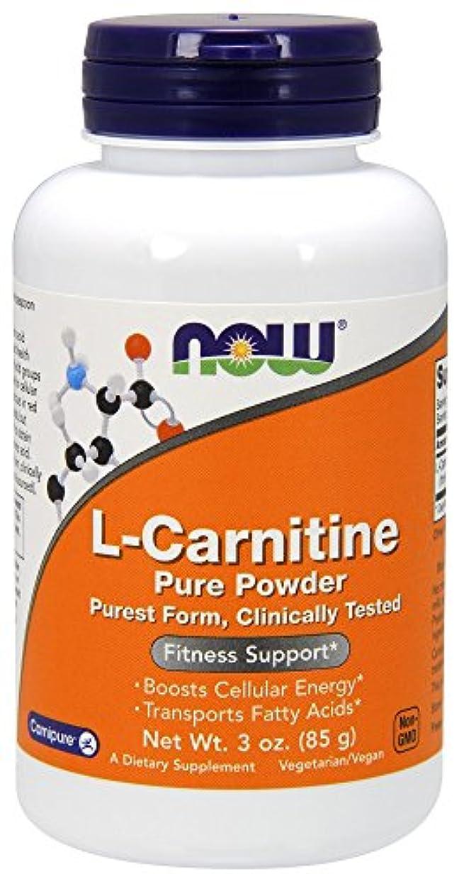 いらいらさせる高尚な苦行[海外直送品] ナウフーズ L-カルニチン 100%?ピュアパウダー 85g
