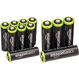 Amazonベーシック 充電池 充電式ニッケル水素電池 単3形8個セット (最小容量1900mAh、約1000回使用可能) & 充電池 充電式ニッケル水素電池 単3形4個セット (最小容量1900mAh、約1000回使用可能)