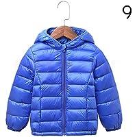 INPEPNOW Children's Down Jacket for Girl Winter Coat Winter Overall for Boy 90% Down Feather Winter Kids Parka for Girls Monkler