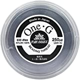 TOHO One・G ビーズステッチ専用糸 得用大巻 #40 グレー 約229m PT-3