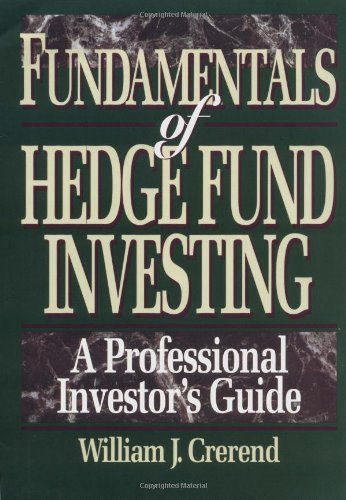 amazon fundamentals of hedge fund investing a professional