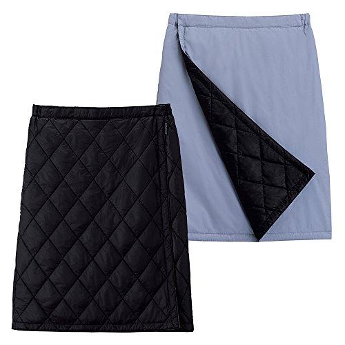 モンベル(mont-bell) サーマラップスカート ブラック/スカイダイバー 1105463 (M)