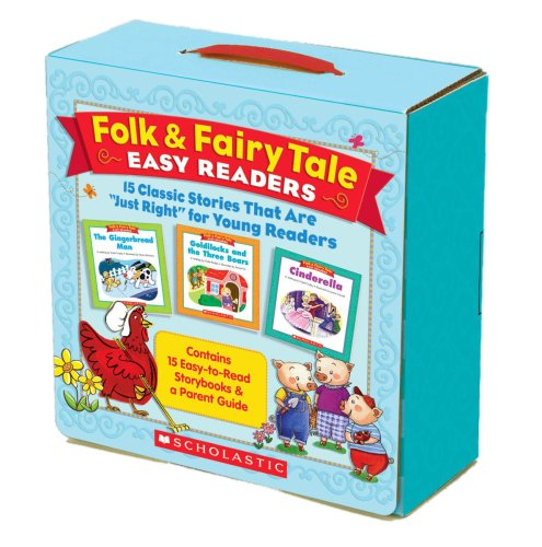 Folk & Fairy Tale Easy Readers: 15 Classic Stories That Are Just Right for Young Readers -