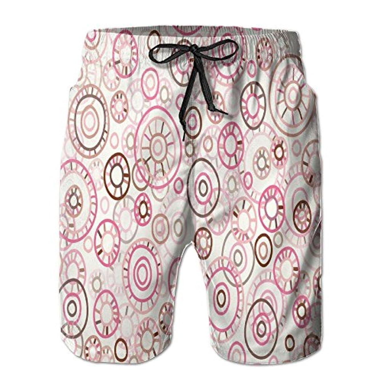 所得側音楽家風車 紳士のファッションと快適のビーチショーツ スイムショーツ メッシュインナー 通気 速乾 ビーチズボン 海水パンツ ショートパンツ
