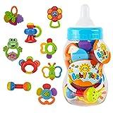 Wishtime 新生児のおもちゃシリーズ おしゃぶり&ラトル 9点 セット ZM15015