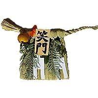 Moa Feteli(モアフェティ) 国産 伊勢しめ縄■しめ縄 注連縄■工房手作り ■ 笑門 幅 60x 垂れ 30cm
