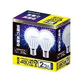 STYLED LED電球 E17口金 2個入り 小形電球タイプ 4.8W 480lm (昼光色相当・密閉器具対応・小形電球40W相当) LA35N40D1P2