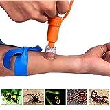 STL エクストラクター ポイズンリムーバー 蚊 蜂 蛇対策 毒液・毒針を吸引 アウトドア応急用品