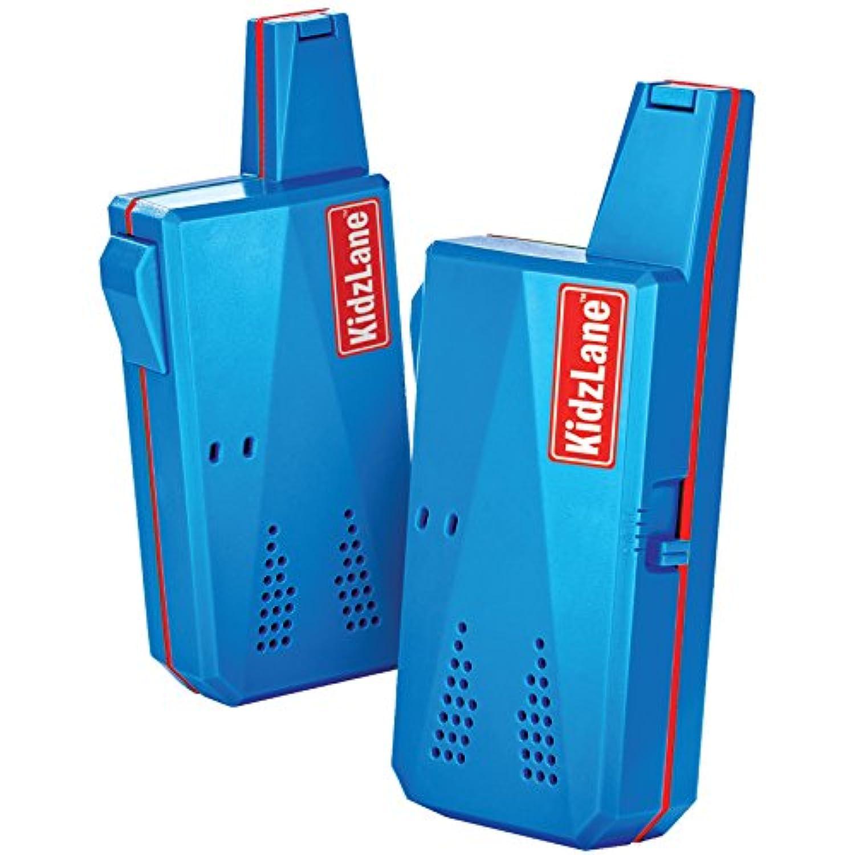 [Kidzlane]Kidzlane Durable Walkie Talkies, Easy To Use and Kids Friendly, 2 Mile Range, 3 Channel 0555 [並行輸入品]