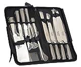 専門家カールセット Ross Henery Professional Ross Henery Professional Eclipse Premium Stainless Steel 9 Piece Starter Chef's Knife Set in Case(並行輸入品) okwidu