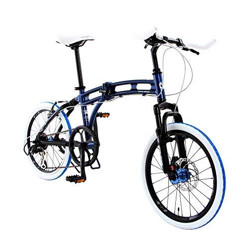 DOPPELGANGER 20インチ 折りたたみ自転車 パラレルツインチュー...