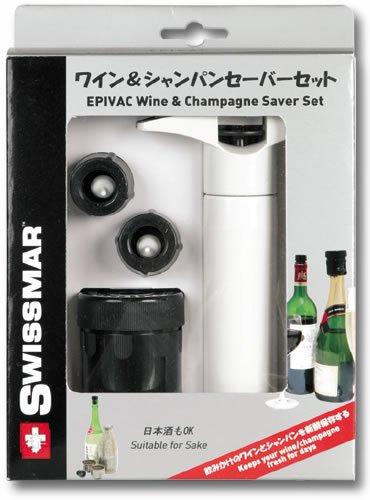 ワイン・シャンパン共用セーバー 替栓付きセット