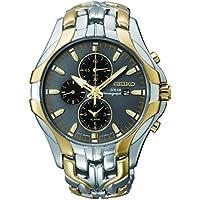 Seiko Men SSC138P-9 Year-Round Chronograph Solar Powered Multicolour Watch