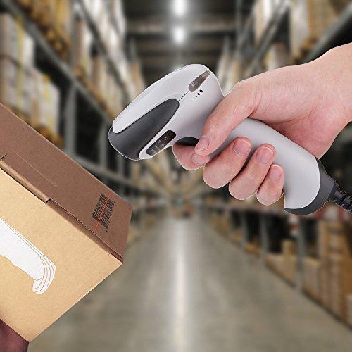 『BEVA バーコードリーダー USB バーコードスキャナー ハンドヘルド 設定不要 高速読み取り 店舗・オフィス・物流・倉庫・図書館などに適用』の5枚目の画像