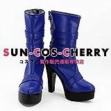 【サイズ選択可】コスプレ靴 ブーツ K-2346 美少女戦士セーラームーン 天王はるか てんおうはるか 女性24CM