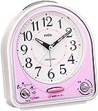 セイコー クロック 目覚まし時計 アナログ 31曲 メロディ アラーム PYXIS ピクシス ピンク NR435P SEIKO