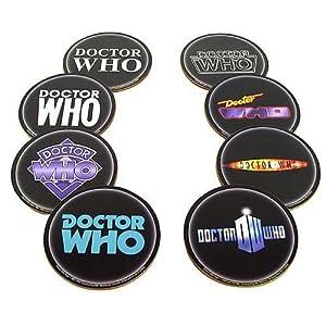 Doctor Who ドクターフー Logo Coaster 8-Pk [並行輸入品]