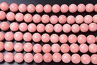 【幸運堂】 ジェード (ジェイド) ピンク (??色) 12mm [r956] 連売り商品 天然石 パワーストーン ビーズ