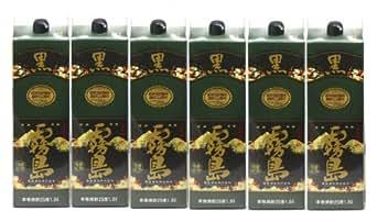 霧島酒造 本格焼酎 黒霧島(紙パック1800ml)6本セット
