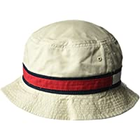 Tommy Hilfiger Mens 6942968 Dad Hat Flag Bucket Cap Baseball Cap