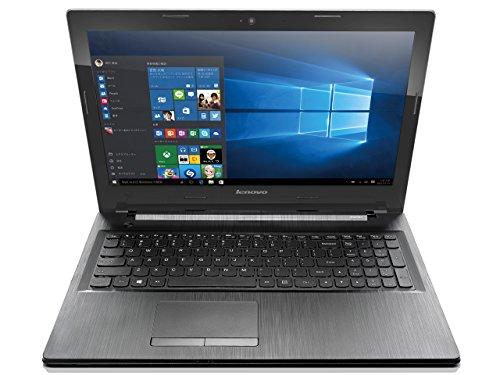 Lenovo G50 80E503GRJP Windows10 Home 64bit Core i3 2GHz 4GB 500GB DVDスーパーマルチ 高速無線LANac/a/b/g/n Bluetooth webカメラ USB3.0 HDMI 10キー付キーボード 15.6型液晶ノートパソコン プラチナシルバー (Office非搭載, プラチナシルバー)