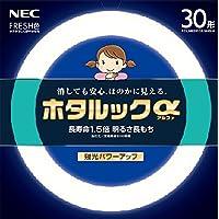 NEC 丸形蛍光灯(FCL) ホタルックα 30形 昼光色 FCL30EDF/28-SHG-A