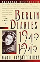 Berlin Diaries, 1940-1945 by Marie Vassiltchikov(1988-06-12)