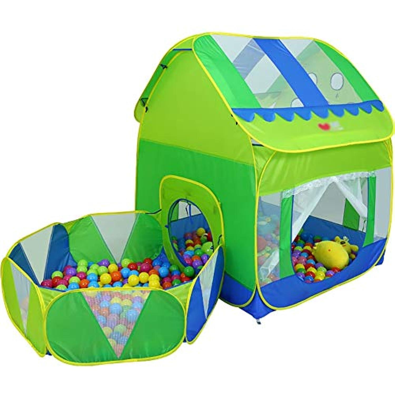 ベビーサークル 子供たちはトンネルと200のボールでテントをプレイホーム子供用プレイハウス屋内幼児プレイハウス遊び場