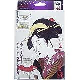 浮世絵シリーズ 歌麿ライン 難波屋おきた コエンザイムQ10+江戸紫エッセンスマスク 25g 10枚セット