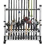 カストキング(KastKing)ロッドスタンド 24本 釣り竿スタンド 竿立て アルミ軽量 簡単な組み立て (24本)