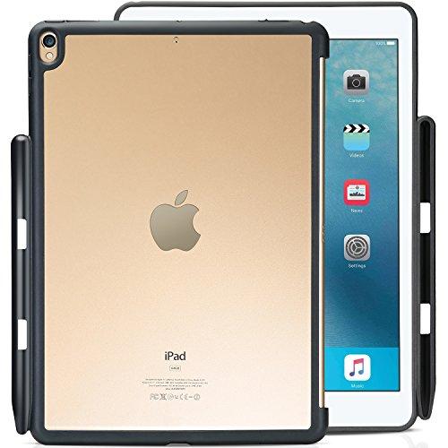 """ProCase iPad Pro 10.5 ケース 保護ケース バックカバー Appleペンシルホルダー付き iPad Pro 10.5インチ 2017 10.5"""" New iPad Air (3rd) 2019モテルナンバー:A2152 A2123 A2153 A2154専用 Appleスマートキーボードとカバーに対応 -クリア"""