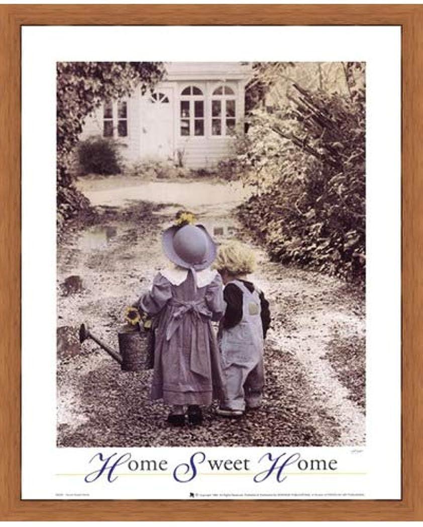 靴下仕様電卓Home Sweet Home by Gail Goodwin – 16 x 20インチ – アートプリントポスター 16 x 20インチ LE_664396-F8744-16x20
