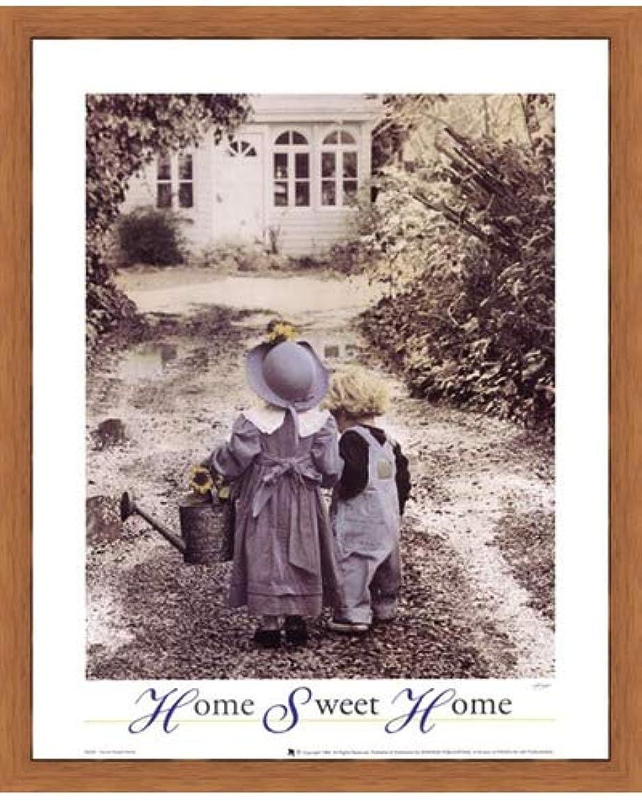 一流スコアほぼHome Sweet Home by Gail Goodwin – 16 x 20インチ – アートプリントポスター 16 x 20インチ LE_664396-F8744-16x20