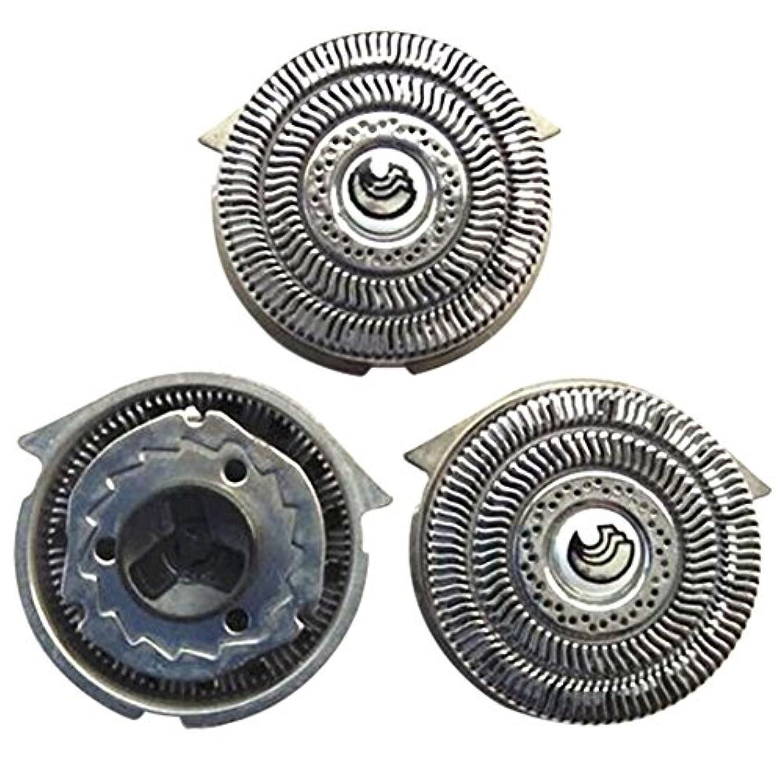 者シーズン寛大なDeylaying 置換 シェーバー 頭 フォイル 刃+カッター for Philips S9911 S9731 S9711 S9511