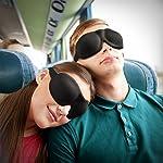 アイマスク 安眠,Unimi 睡眠アイマスク 3D立体型 軽量 圧迫感なし 旅行・出張・昼寝に最適 遮光・通気抜群