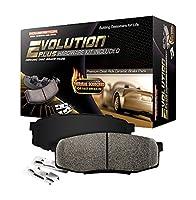 Power Stop 17-1474A Z17 Evolution Plus Front Brake Pad Set with Hardware Kit [並行輸入品]
