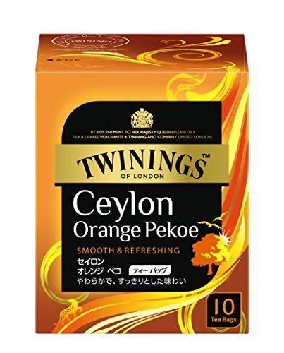 トワイニング セイロンオレンジペコ ティーバッグ (2g×10P)×4箱