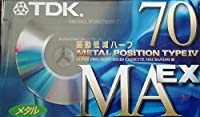 TDK メタルテープ MAEX 70分 振動低減ハーフ MAEX-70