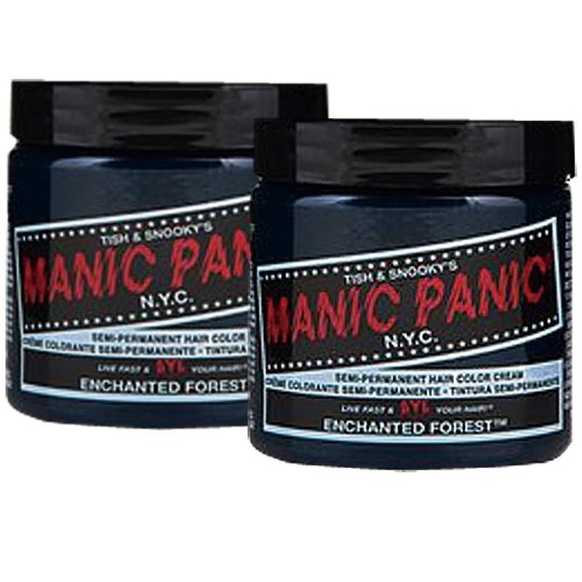 冷ややかなリットル効能【2個セット】MANIC PANIC マニックパニック Enchanted Forest 118m