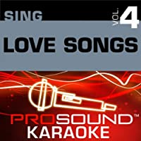 Sing Love Songs Combo Series V. 4