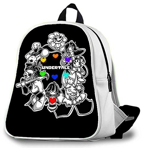 Undertales Love Love School Bag / Color White / Size Large by EveryU