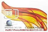 AF 【SIMカードアダプタ無し】iPad用アクティベーションカード(softbank対応版) AF-ACiPDs